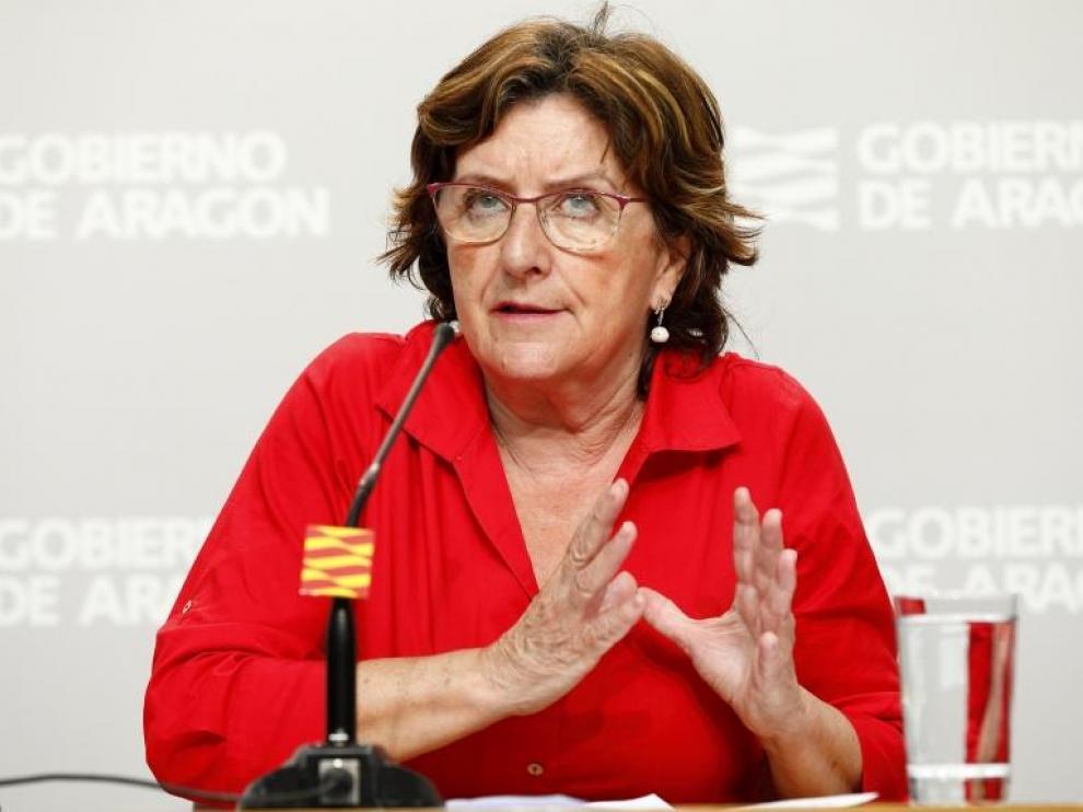 La consejera de Ciudadanía, Mariví Broto, ha explicado este sábado las novedades referidas a las residencias que se publicarán este lunes en una orden.