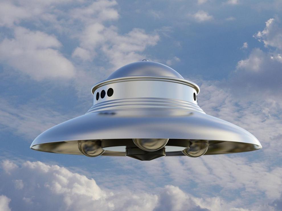 Una interpretación de un OVNI.