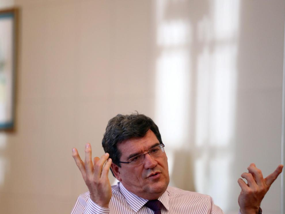 El ministro José Luis Escrivá el pasado miércoles en Madrid.