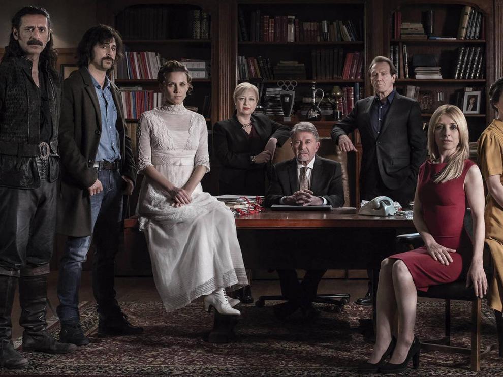 Personajes protagonistas de 'El Ministerio del Tiempo'.