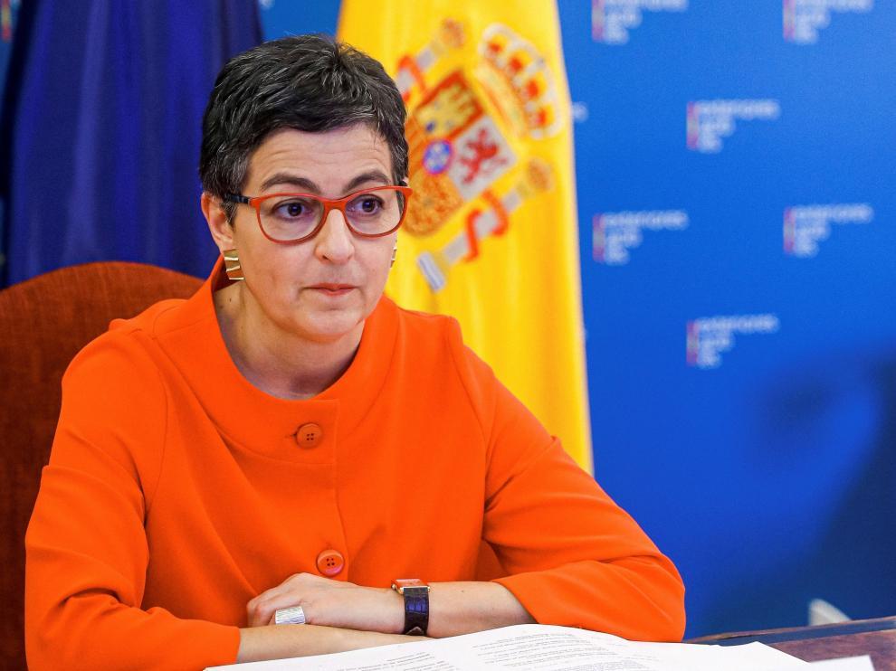 """González Laya anima a apoyar una """"buena causa sin matices"""" por Venezuela"""