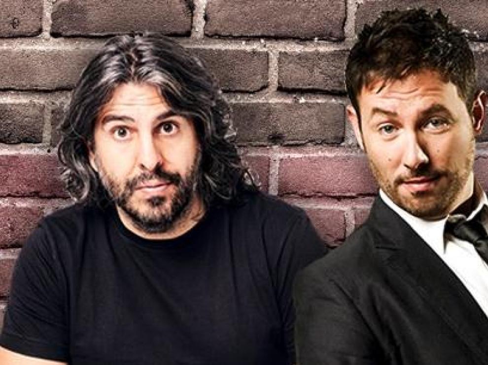 Comedia a domicilio: un espectáculo en streaming de JJ Vaquero e Iñaki Urrutia.