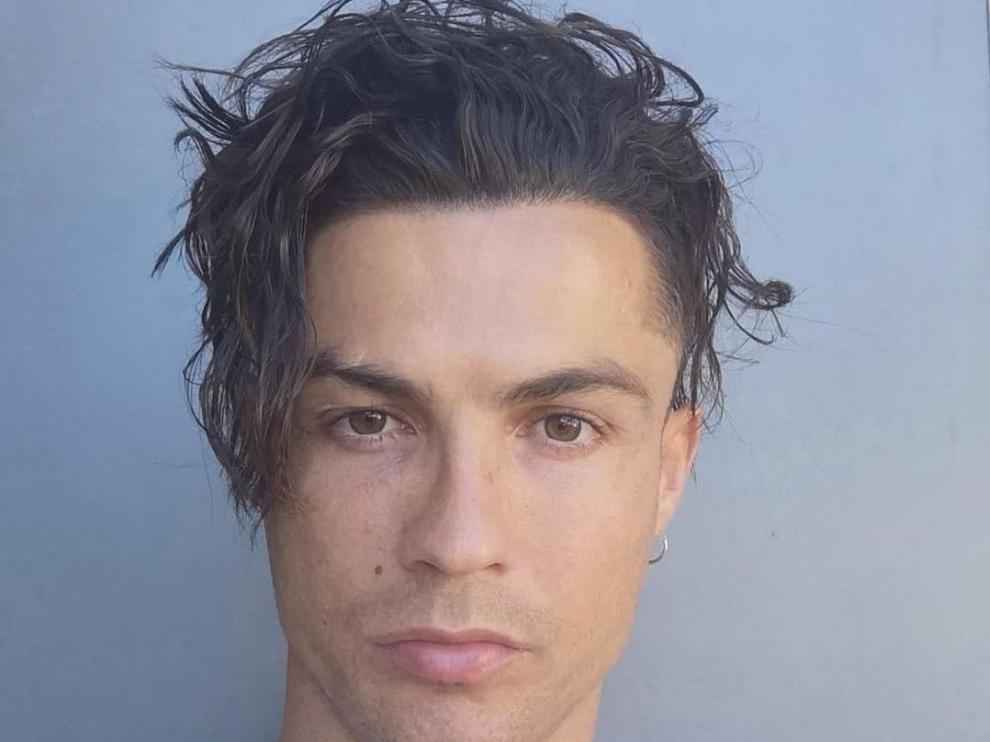 El nuevo 'look' de Cristiano Ronaldo.