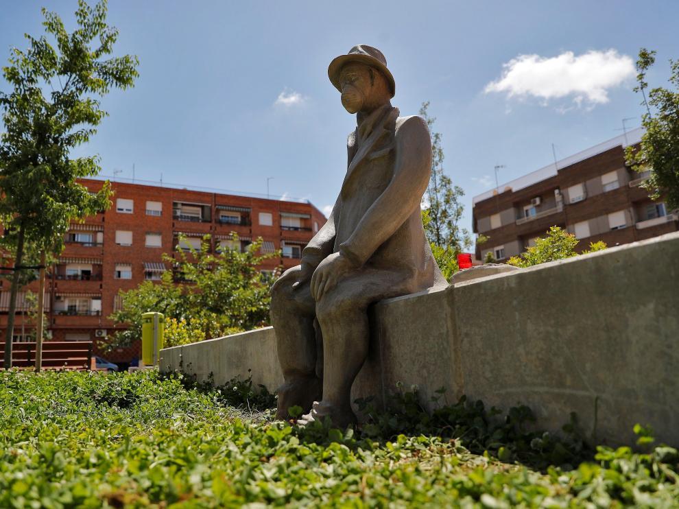 Imagen de la escultura.