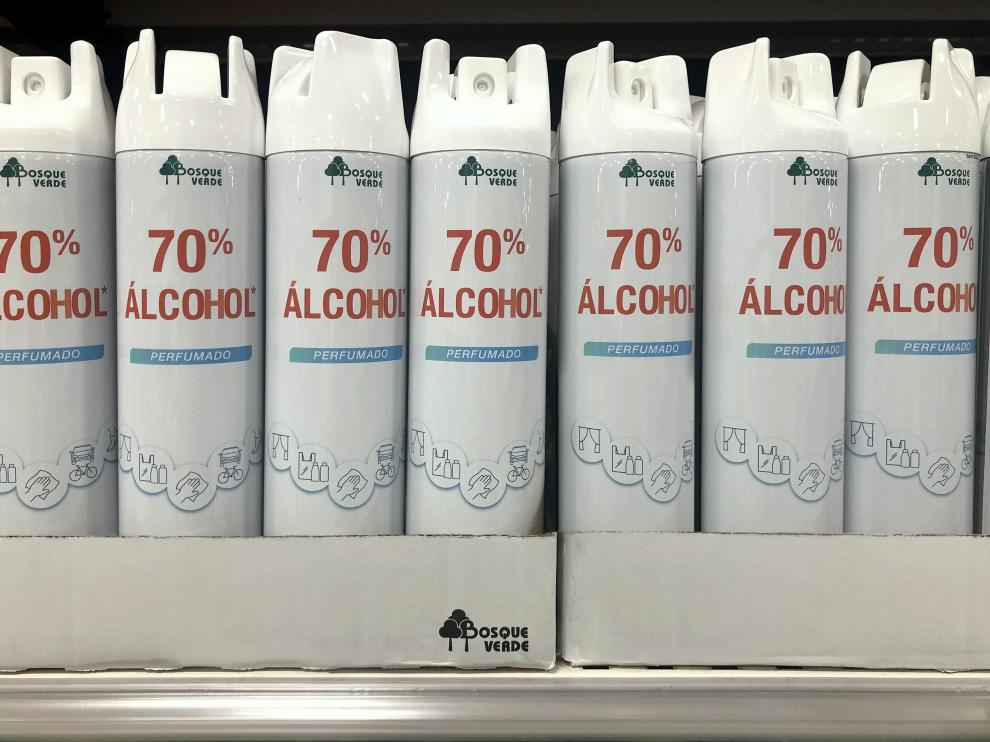 Nuevo spray de alochol perfumado de Mercadona.