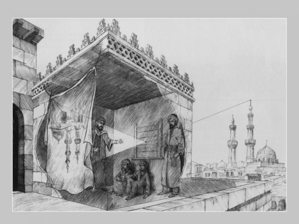 Durante su encierro, Alhazen inventó la 'cámera obscura'