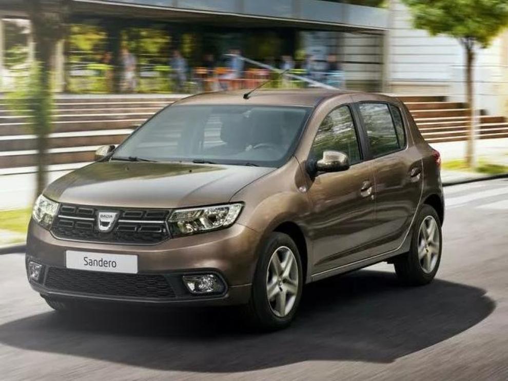Dacia Sandero, urbano y con cinco plazas, desde 7.700 euros.