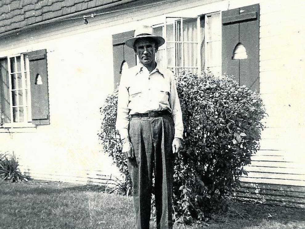 Francisco Gimenez, de Jabaloyas, en Utah.