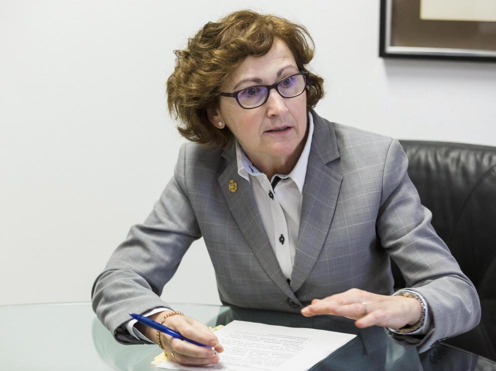 Pilar Molinero, directora del IAF.