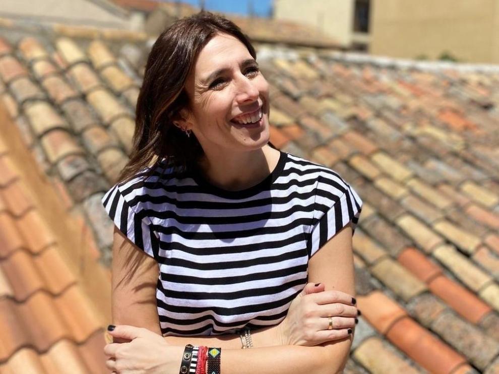 Lorena Bernal, zaragozana diagnosticada de esclerosis múltiple.