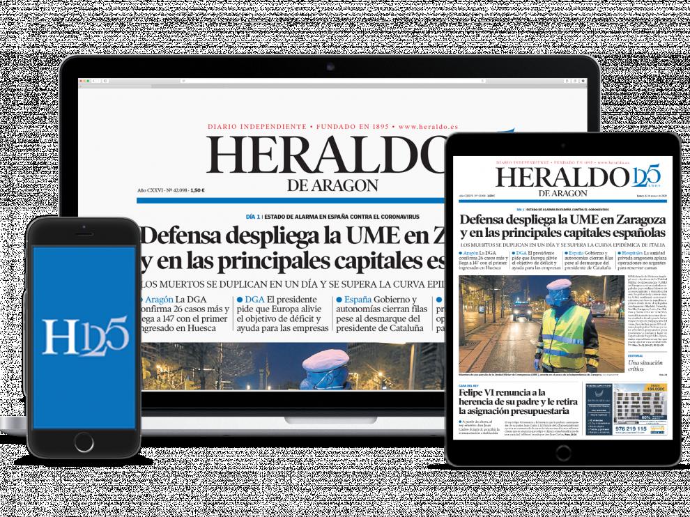 Nueva plataforma para acceder a la versión en papel de Heraldo.