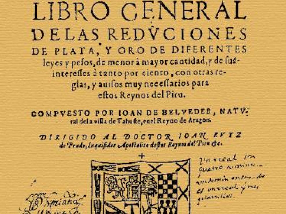 Portada del libro de Joan de Belveder.