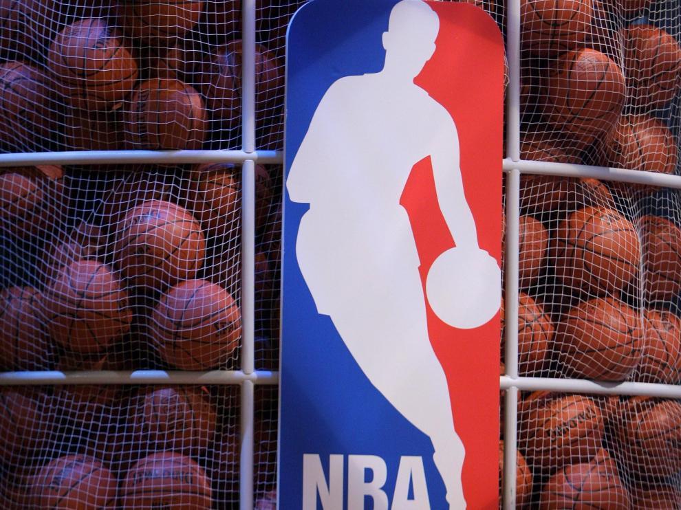 Logo de la liga NBA.