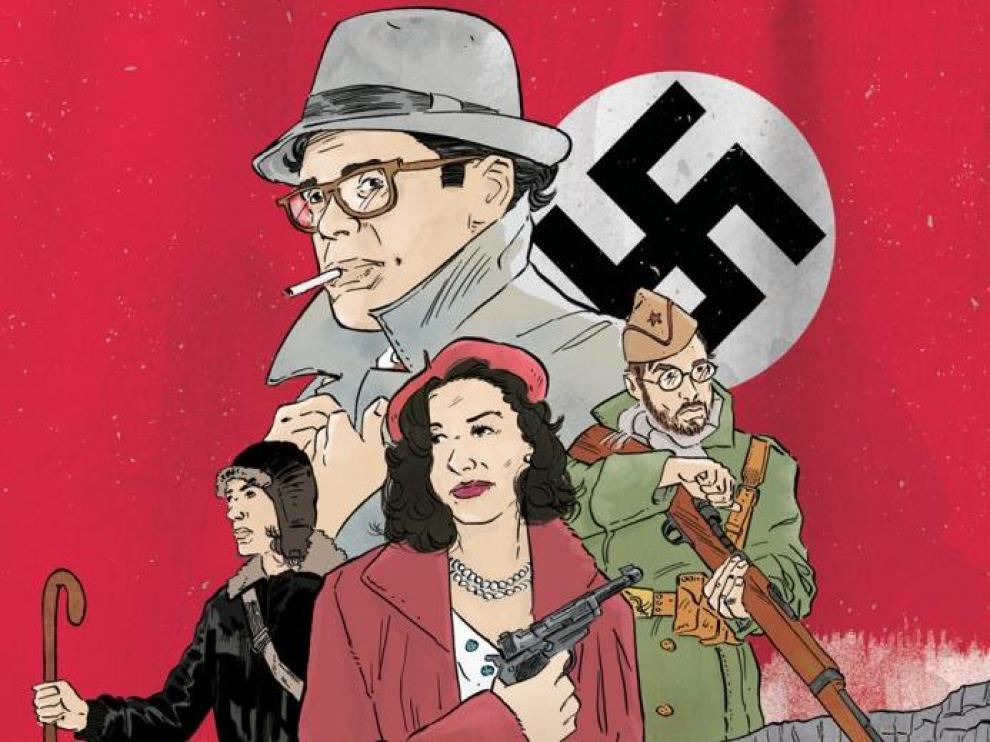 Imagen de la portada del cómica de David Tapia y Juanarete.
