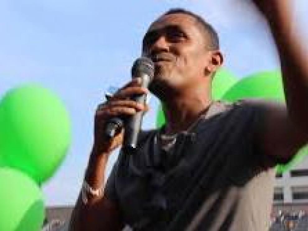 Haacaaluu Hundessa, el cantante fallecido.