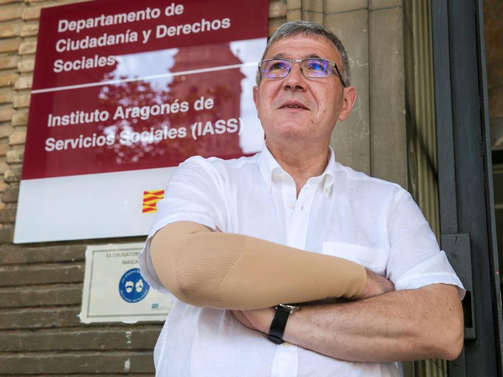 Joaquín Santos, director gerente del IASS.