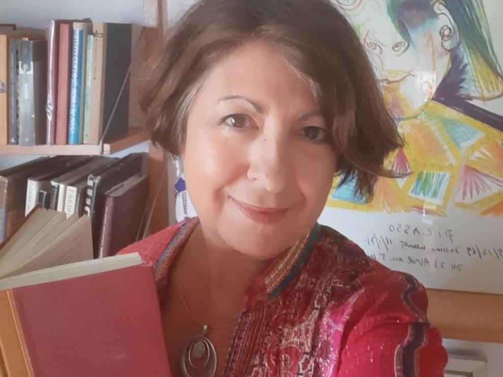 Entrevista con Ana Alcolea. Premio de las Letras Aragonesas, 2019.
