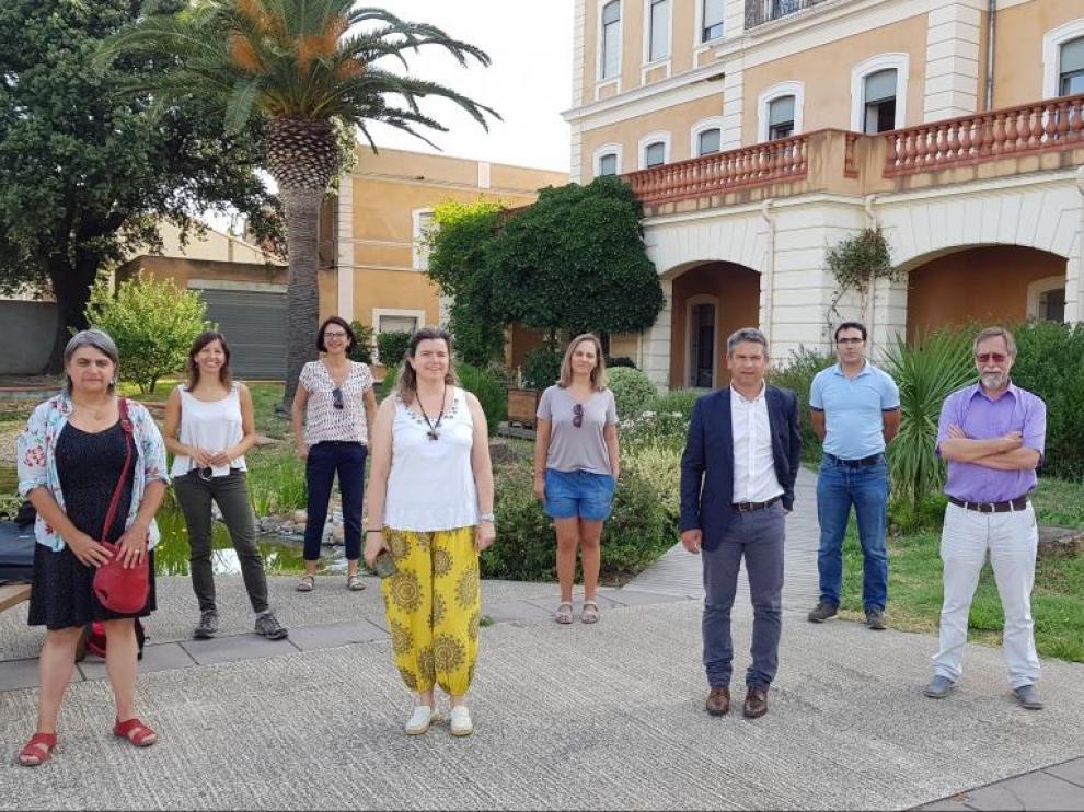 Reunión técnica del proyecto FoRuO en Francia.