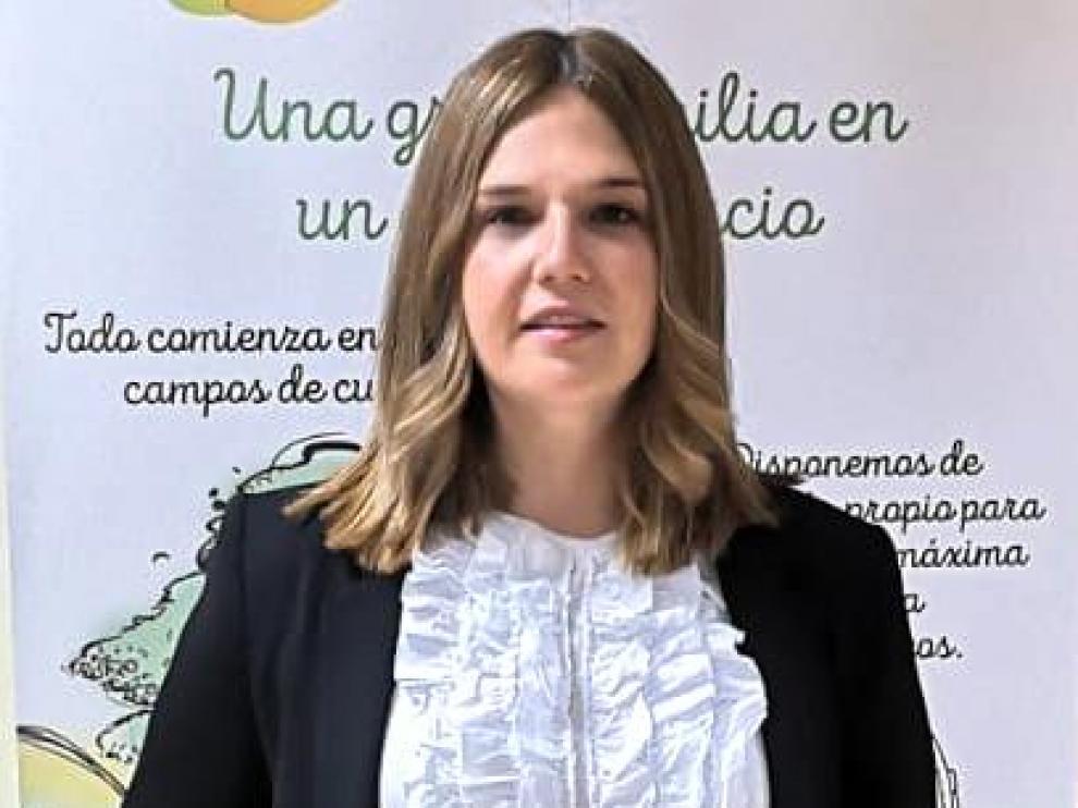 Beatriz Esteban, CEO de Granja Virgen del Rosario.