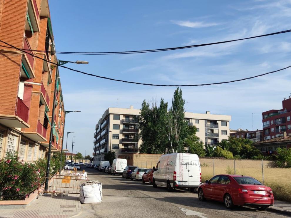 Calle de Paulino Savirón.