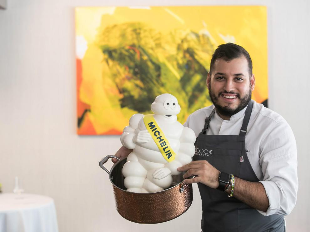 Ramces González, chef del restaurante Cancook.