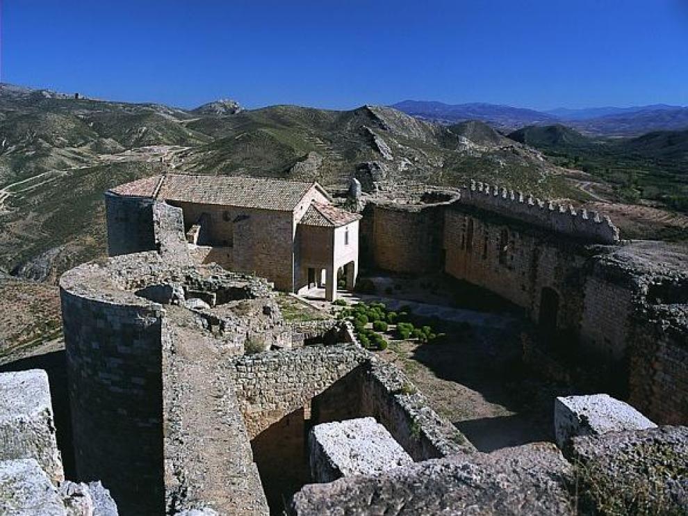 Castillo de los Luna, en Mesones de Isuela.