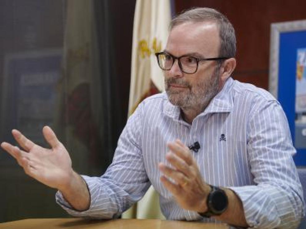 Fernando Sainz de Varanda Alierta, vicepresidente del Consejo de Administración del Real Zaragoza.