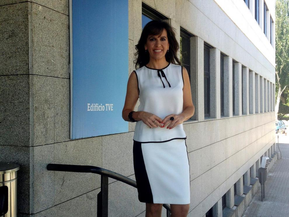 Belén Plaza, presentadora de 'Tendido Cero'.