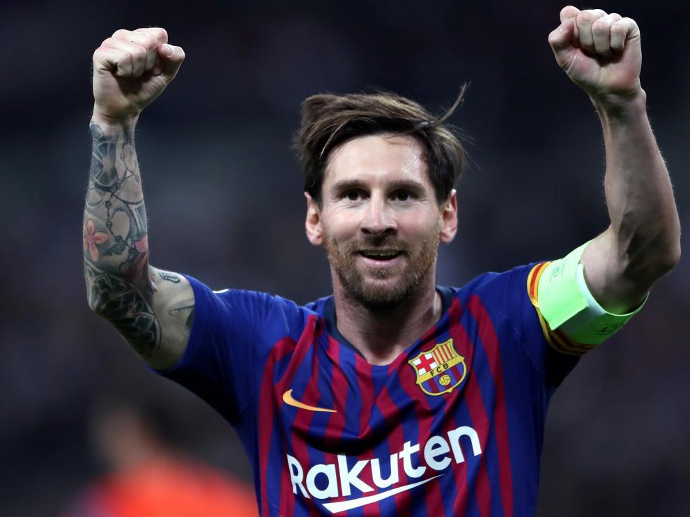 El futbolista Leo Messi en una imagen de archivo.