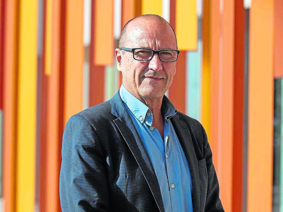 El consejero Felipe Faci en el Departamento de Educación, Cultura y Deporte