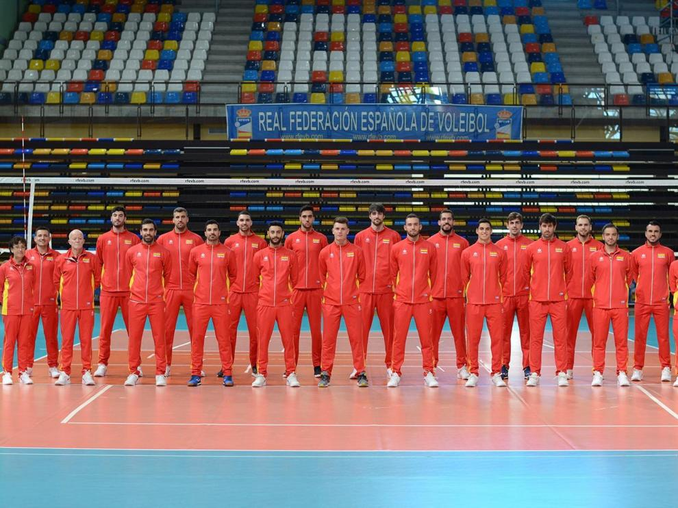 Selección española masculina de voleibol.