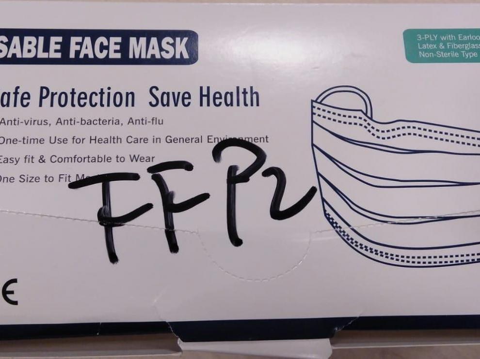 Foto facilitada por el sindicato CSIF.