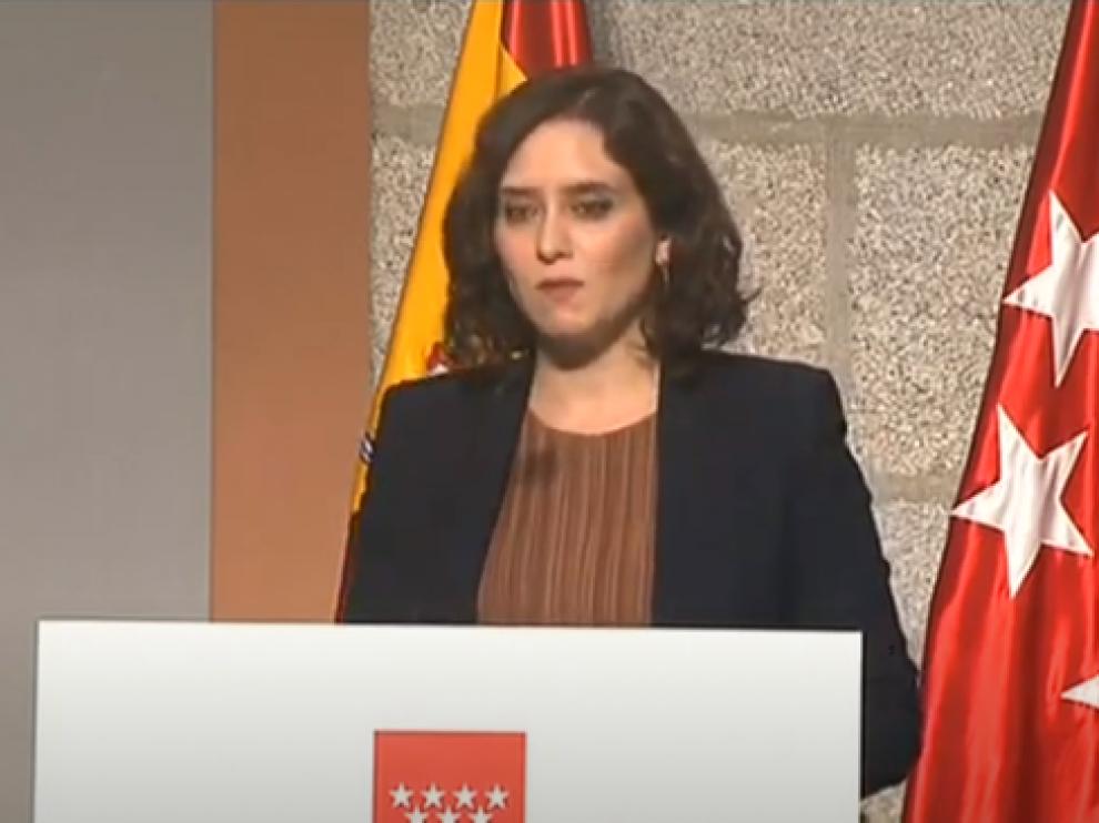 Diaz Ayuso confina 37 áreas sanitarias de Madrid