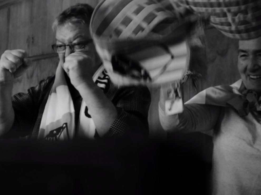 Imagen del videoclip de la canción.
