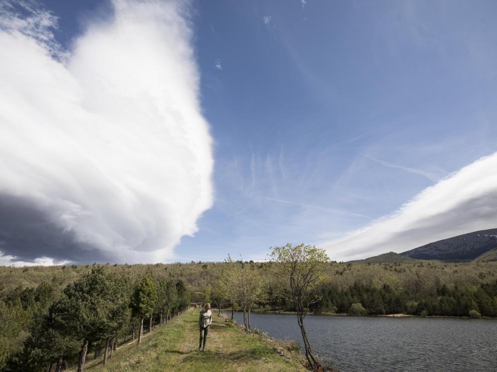 Nubes, cerca del Moncayo.