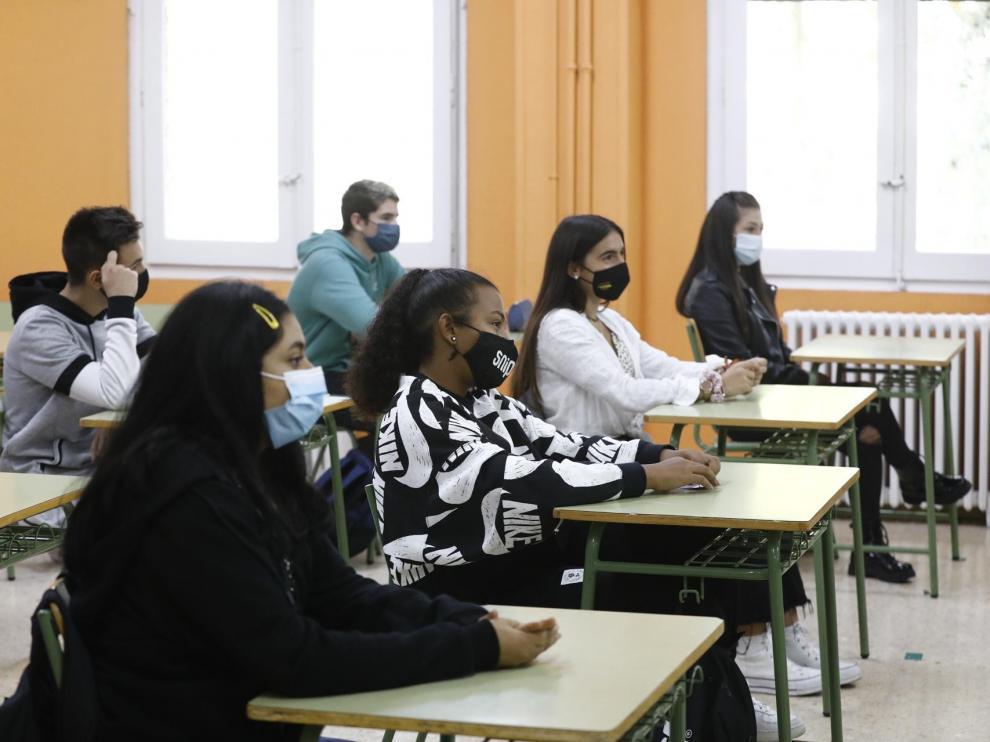 Comienzan las clases totalmente presenciales en 2º de Bachillerato
