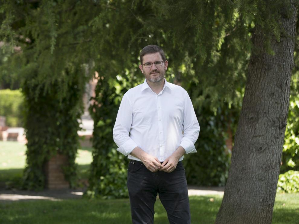 Ignacio Urquizu, alcalde de Alcañiz.