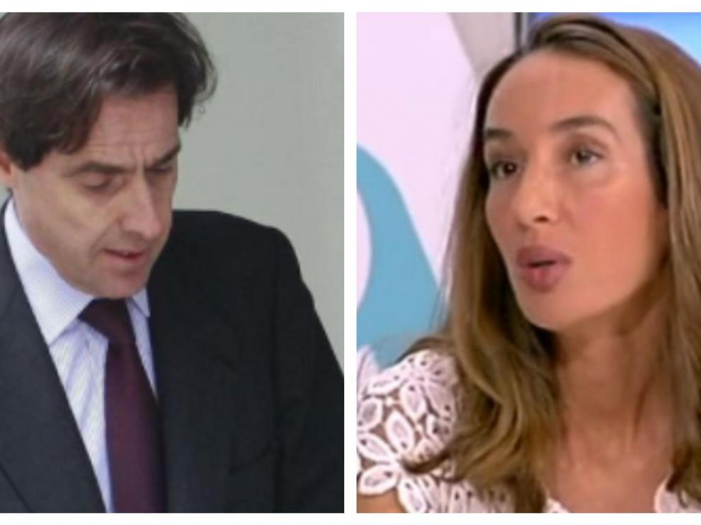 Javier López Madrid y Elisa Pinto