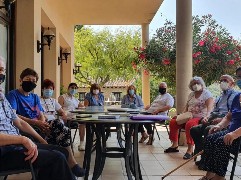 Foto del grupo de alumnos de Las Almunias, este pasado septiembre.
