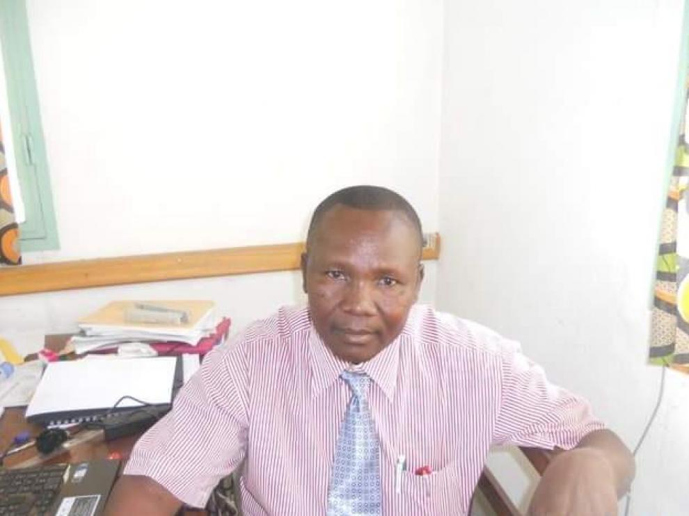 Guiradoumadje Ndingadal, Samuel, director del Hospital Saint-Joseph de Bébédjia.