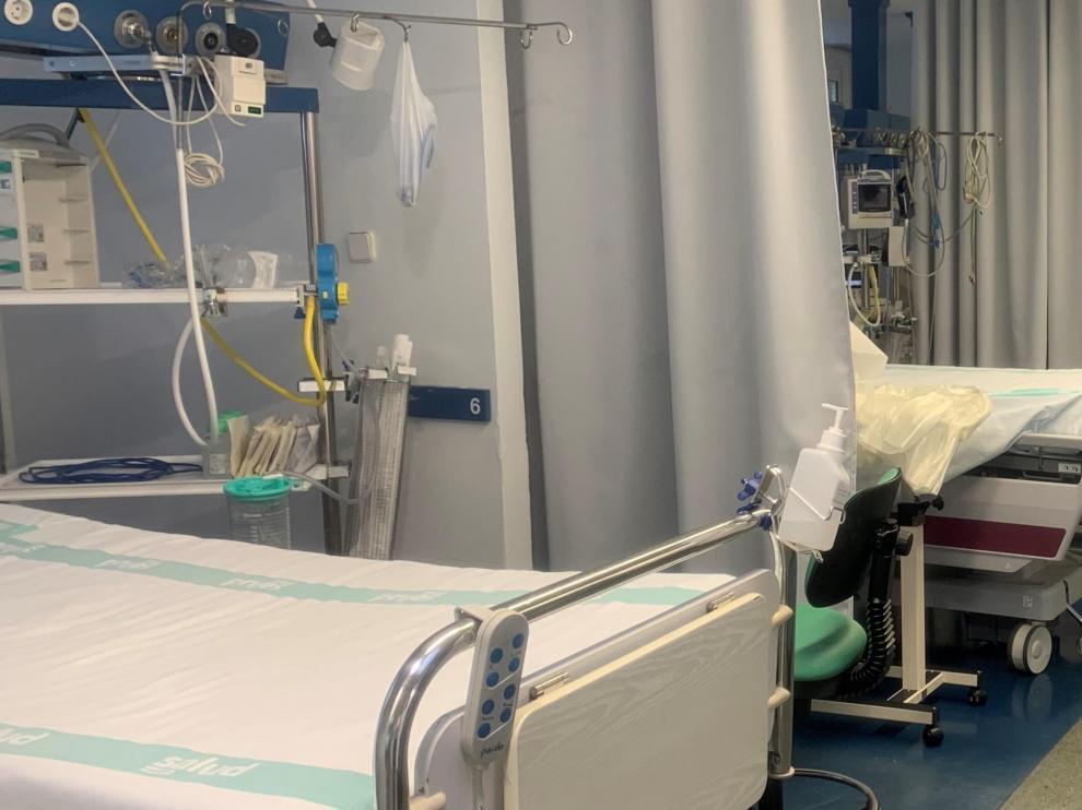 La Unidad de Ciudados Intensivos del San Jorge cuenta con 11 camas reservadas para pacientes covid.