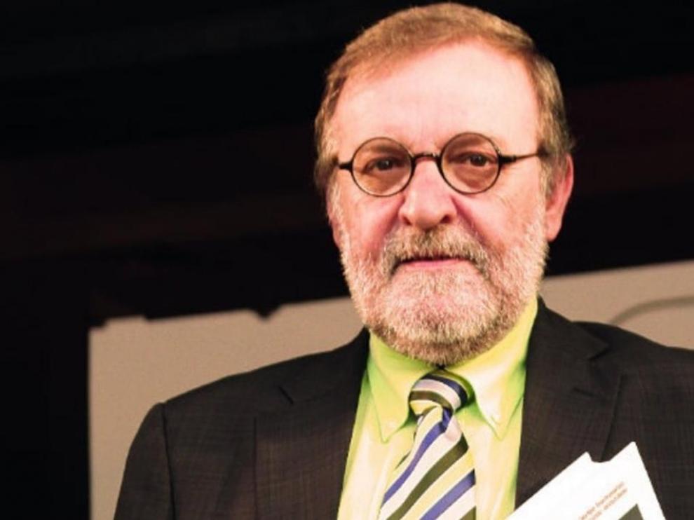 El catedrático de la Universidad de Zaragoza Luis Gracia Martín.