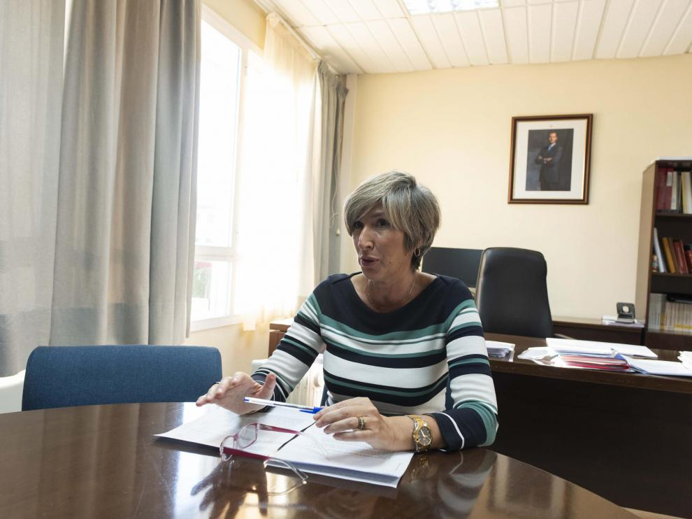 MARIA CARMEN GAMBARO DIRECTORA DE LA PRISION DE ZUERA / 16-10-2020 / FOTOS: FRANCISCO JIMENEZ [[[FOTOGRAFOS]]]