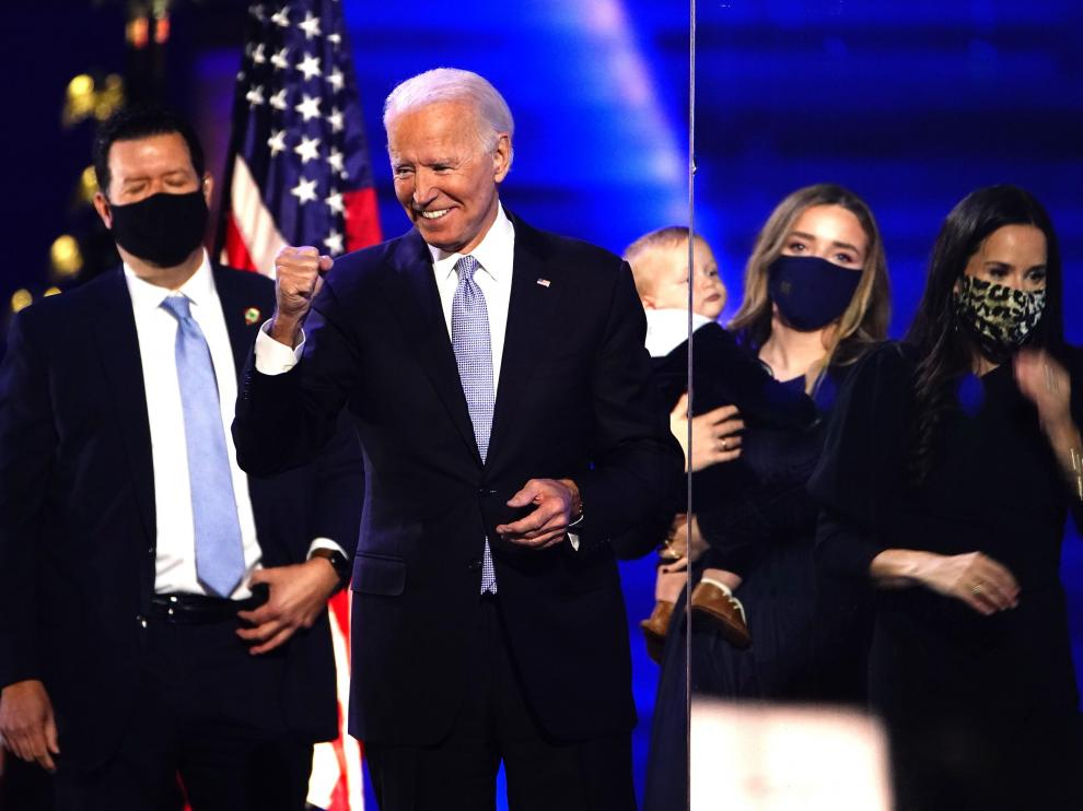 President-elect Joe Biden and Vice President-elect Kamala Harris celebration event