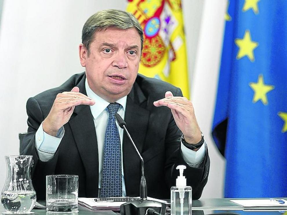 Luis Planas, ministro de Agricultura.