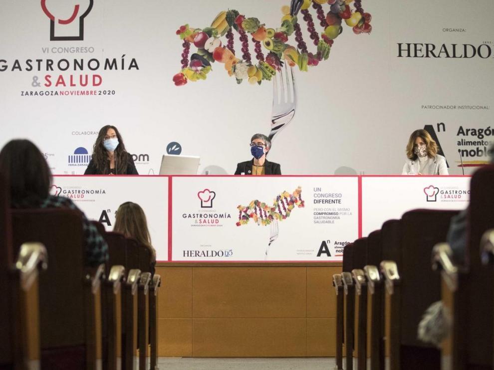 Mesa redonda en el VI Congreso de Gastronomía y Salud.