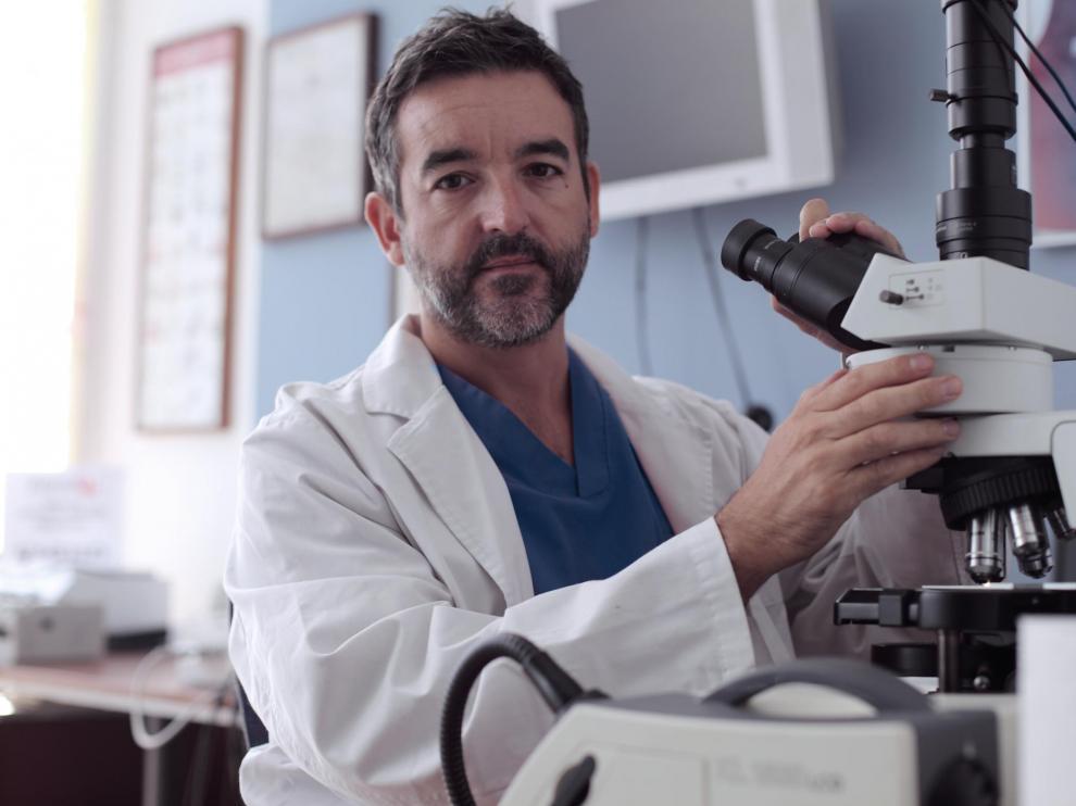 El doctor Juan Pedro Lapuente.