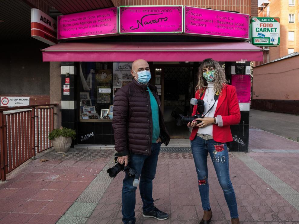 CRISIS EN EL SECTOR DE LA FOTOGRAFIA / FOTO ESTUDIO NAVARRO ( ZARAGOZA ) / 16/11/2020 / FOTO : OLIVER DUCH[[[FOTOGRAFOS]]]