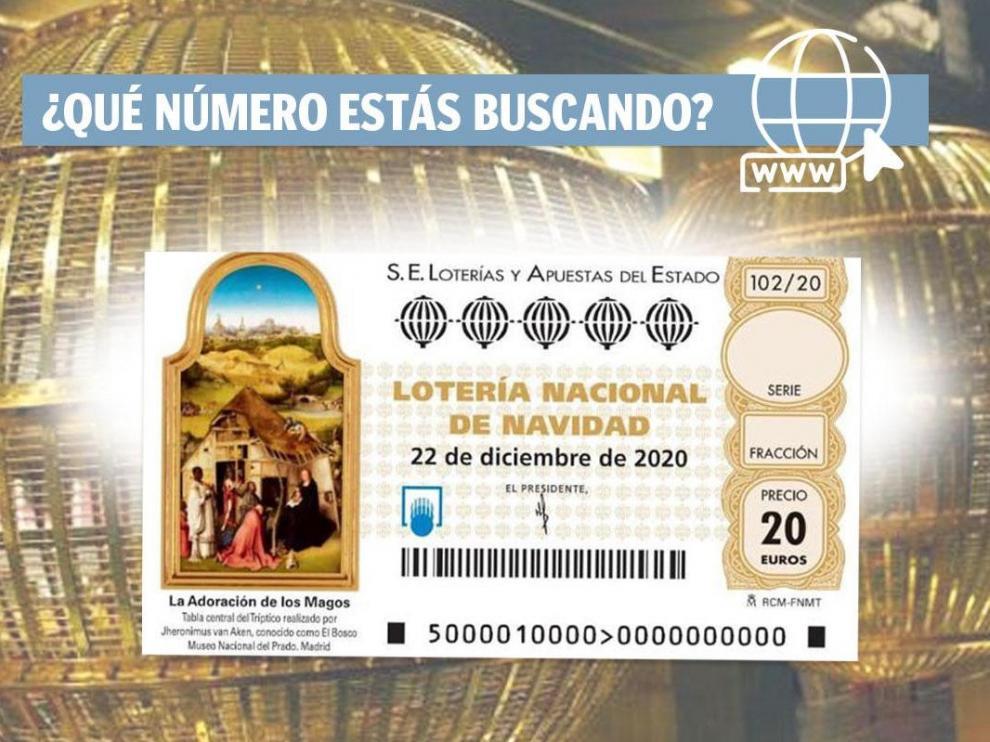 Lotería de Navidad 2020.