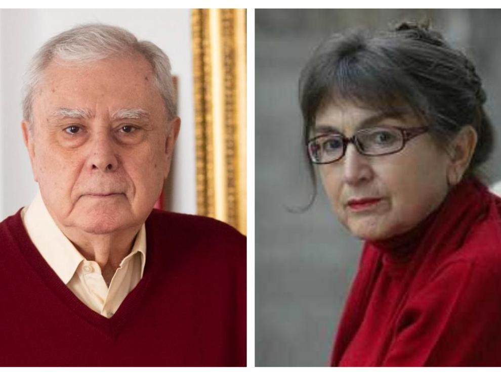 Javier Rupérez y María Izquierdo
